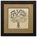 Family Tree  Always and Forever  Framed Wall Art