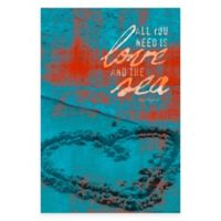 """""""All You Need is Love"""" Canvas Wall Art"""