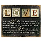 "Courtside Market ""Love Always"" Canvas Wall Art"