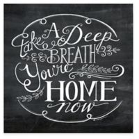 """""""You are Home"""" Canvas Wall Art"""