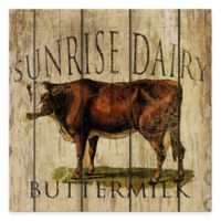 Sunrise Dairy Buttermilk Gallery Canvas Wall Art
