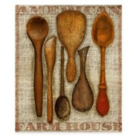 Wooden Spoons Gallery Canvas Wall Art