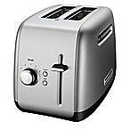 KitchenAid® 2-Slice All-Metal Toaster in Contour Silver