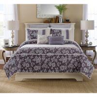 Helena Pillow Sham in Purple