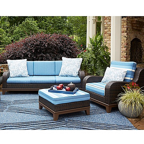 Scott Living Moorea Rattan Patio Furniture Collection