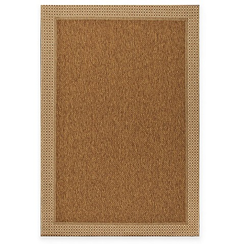 miami sisal indoor outdoor rug in tan bed bath beyond. Black Bedroom Furniture Sets. Home Design Ideas