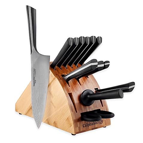 Calphalon 174 Katana Series 14 Piece Cutlery Knife Block Set