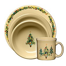 christmas tree dinnerware collection