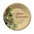 "Fiesta® Christmas ""Merry Christmas"" Luncheon Plate"