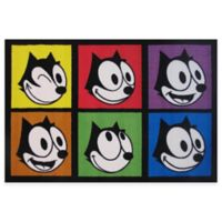 Fun Rugs® Felix the Cat Portraits 1-Foot 7-Inch x 2-Foot 5-Inch Accent Rug