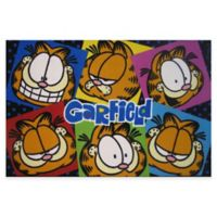 Fun Rugs® Garfield Images 1-Foot 7-Inch x 2-Foot 5-Inch Accent Rug