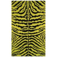 Fun Rugs™ Zebra Skin 1-Foot 7-Inch x 2-Foot 5-Inch Accent Rug in Yellow/Black