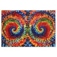 Fun Rugs™ Tie Dye Fun 1-Foot 7-Inch x 2-Foot 5-Inch Rug