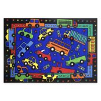 Fun Rugs™ Bip Bip 1-Foot 7-Inch x 2-Foot 5-Inch Transportation Rug