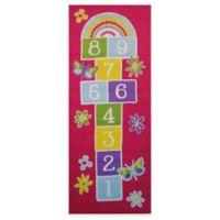 Fun Rugs™ Garden Hopscotch 1-Foot 7-Inch x 2-Foot 5-Inch Rug