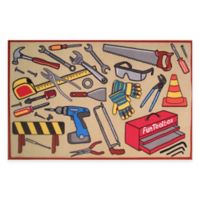 Fun Rugs™ Fun Toolbox 1-Foot 7-Inch x 2-Foot 5-Inch Rug