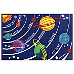 Fun Rugs™ Fun Time 2-Foot 7-Inch x 3-Foot 9-Inch Solar System Accent Rug
