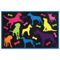 Fun Rugs™ Bow Wow 1-Foot 7-Inch x 2-Foot 5-Inch Accent Rug
