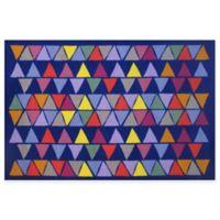 Fun Rugs® Pyramid Party 1-Foot 7-Inch x 2-Foot 5-Inch Rug