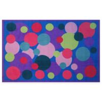 Fun Rugs® Poppin' Bubble 1-Foot 7-Inch x 2-Foot 5-Inch Accent Rug