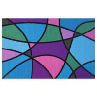 Fun Rugs™ Wave Runner 3-Foot 3-Inch x 4-Foot 10-Inch Accent Rug