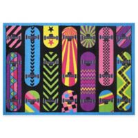 Fun Rugs™ Gnarly Boards 1-Foot 7-Inch x 2-Foot 5-Inch Accent Rug