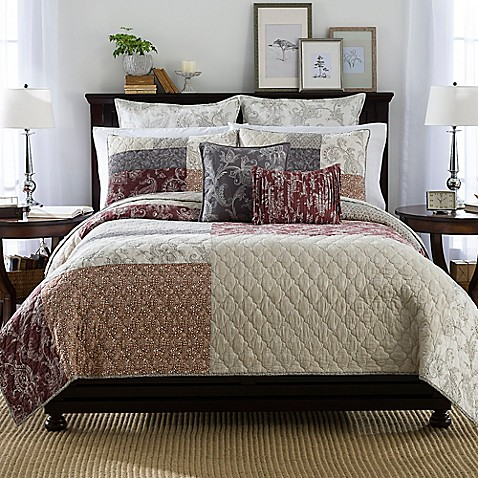 Shayla Quilt - Bed Bath & Beyond : quilts bed bath and beyond - Adamdwight.com