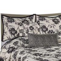 Onyx Floral European Pillow Sham