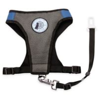 Dog is Good® Large Never Travel Alone Harness in Blue