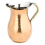 Old Dutch International 2-qt. Copper-Plated Hammered Water Pitcher