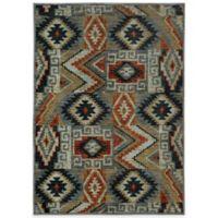 Oriental Weavers Sedona Southwest Geometric 2-Foot 3-Inch x 7-Foot 6-Inch Runner in Multicolor