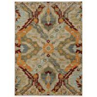Oriental Weavers Sedona Kaleidoscope 1-Foot 10-Inch x 3-Foot Accent Rug in Beige