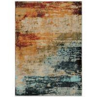 Oriental Weavers Sedona Watercolor 3-Foot 10-Inch x 5-Foot 5-Inch Area Rug in Multicolor
