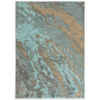 Oriental Weavers Sedona Brushstrokes 1-Foot 10-Inch x 3-Foot Accent Rug in Blue