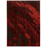Oriental Weavers Sedona Brushstrokes 2-Foot 3-Inch x 7-Foot 6-Inch Runner in Red