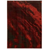 Oriental Weavers Sedona Brushstrokes 6-Foot 7-Inch x 9-Foot 6-Inch Area Rug in Red