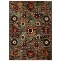 Oriental Weavers Sedona Floral Medallion 1-Foot 10-Inch x 3-Foot Accent Rug in Multicolor