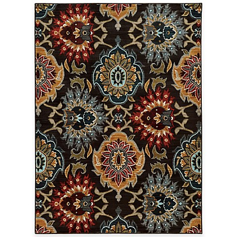 Buy Oriental Weavers Floral Damask 1 Foot 10 Inch X 3 Foot