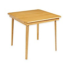 Captivating Stakmore 32 Inch Straight Edge Folding Card Table