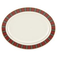 Lenox® Winter Greetings® Plaid Oval Platter