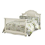 Bassettbaby® PREMIER Addison Full Size Bed Rails in Pearl White