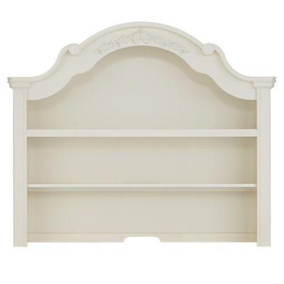 Bassettbaby® PREMIER Addison Nursery Furniture Collection In Pearl White U003e  Bassettbaby® PREMIER Addison Hutch