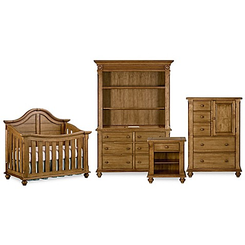 Bassettbaby® PREMIER Benbrooke Nursery Furniture Collection In Vintage Pine