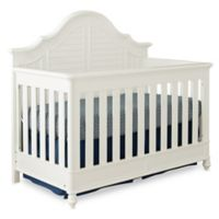 Bassettbaby® Premier Nantucket 4-in-1 Convertible Crib in Cotton White