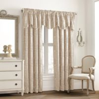 Valeron Glenview Window Curtain Valance with Pencil Pleat in Cream
