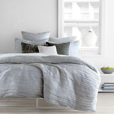 Dkny City Pleat Duvet Cover Set Bed Bath Amp Beyond