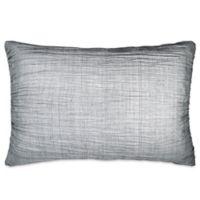 DKNY City Pleat Standard Pillow Sham in Grey