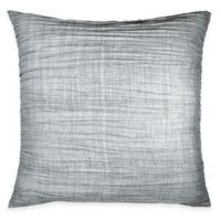 DKNY City Pleat European Pillow Sham in Grey