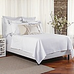 Bellora® Luxury Italian-Made Noto Full/Queen Coverlet in White