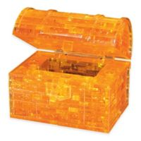 BePuzzled® 52-Piece Treasure Chest 3D Crystal Puzzle